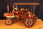 Hand Made Wood Steam Engine