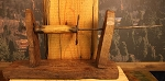 Circa 1830's Antique Flax Spinning Box
