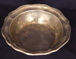 Fantastic 18th Century Hand Hammered Bowl with Maker's Marks