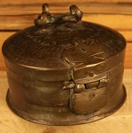 Early 18th Century (1710 -1730) Museum Piece Antique Decorated Bronze Tobacco Box