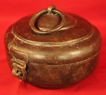 Antique 1700's Dutch Brass Tobacco Box