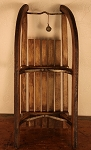 ITEM NOT FOR SALE   1880's Antique Wooden Swiss Sled