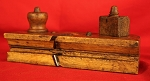 Antique Hand Made Wood Moulding Plane Dated 1868