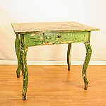 Circa 1850's Vintage Painted Table