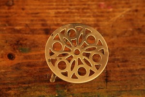 Ornate Brass Trivet