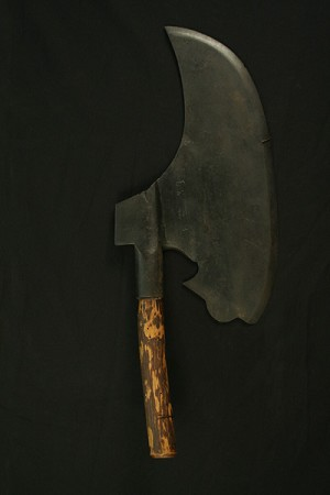Antique Heavy Right Handed Carpenter's Axe
